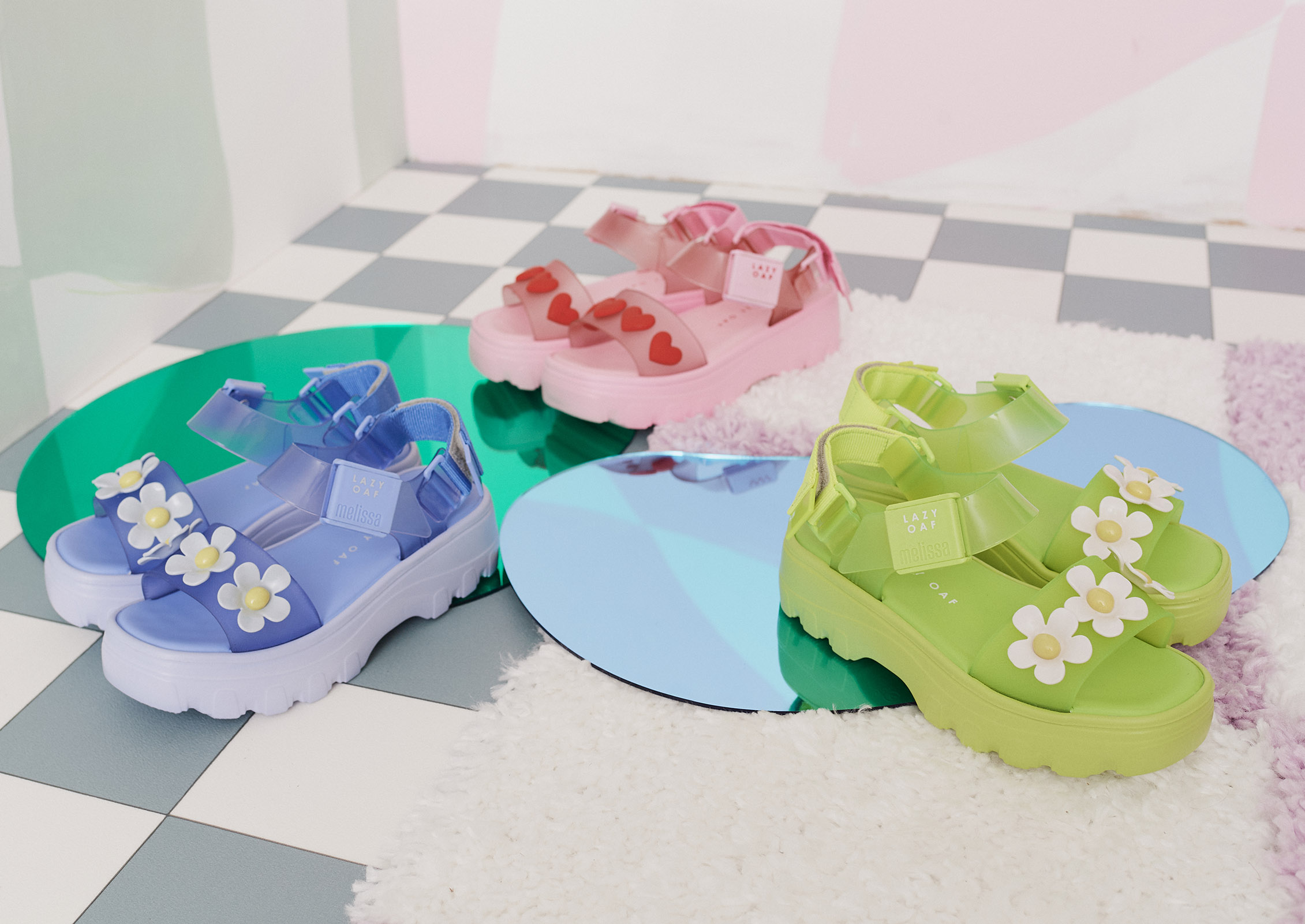 Vegan Footwear Brand Melissa Collaborates with Lazy Oaf - Notion