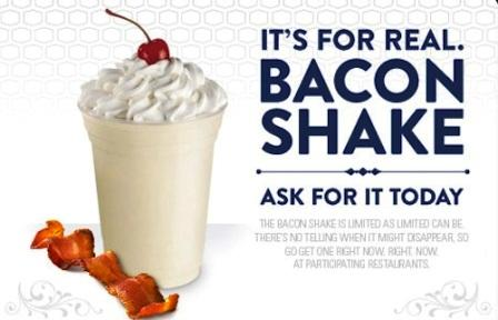 Review Jack In The Box Bacon Shake  So Good Blog