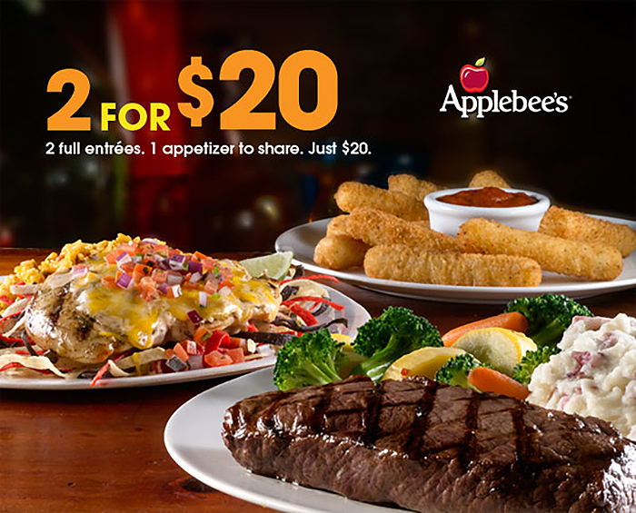 Applebees  Color Cuisine and Coupons  So Good Blog