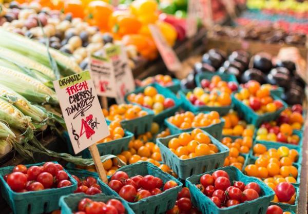 mercato frutta verdura spesa ecosostenibile ecologico naturale