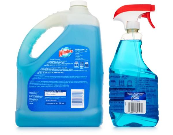 Boxedcom Windex Glass Cleaner 32 128 oz Original