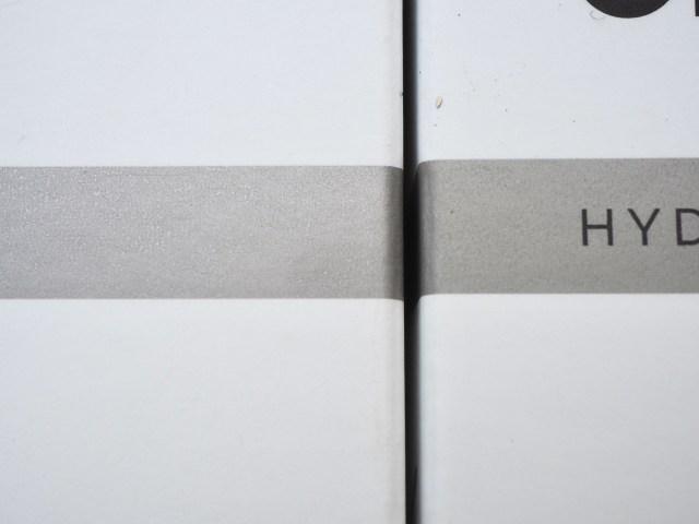 Fake The Ordinary? The silver stripe has a metallic sheen