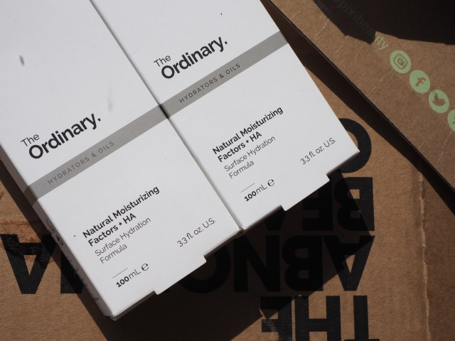 Fake The Ordinary Product? two boxes side by side