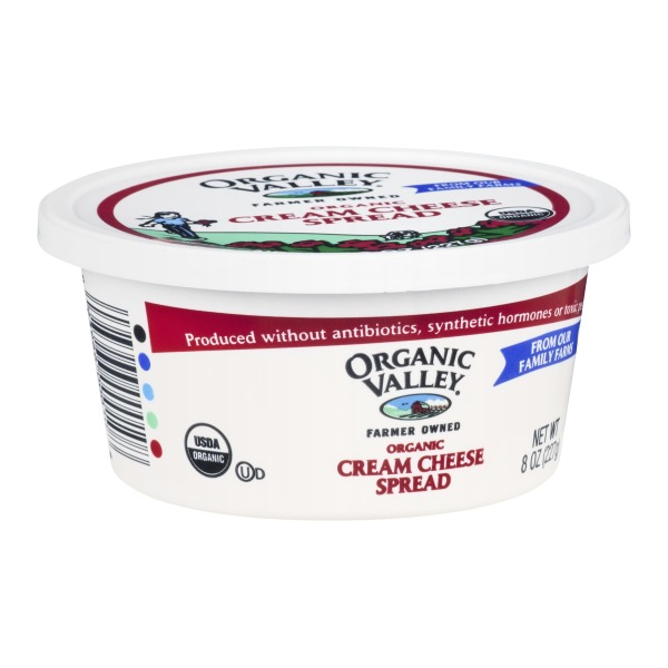 Organic Valley Cream Cheese Spread