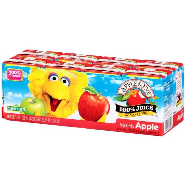 Apple Eve Sesame Street Big Bird39s Apple 100 Juice from