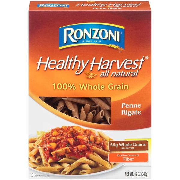 Ronzoni Healthy Harvest 100 Whole Grain Penne Rigate 12
