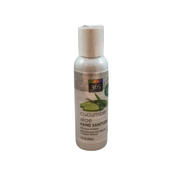365 Cucumber Aloe Hand Sanitizer Gel (2 fl oz) from Whole ...
