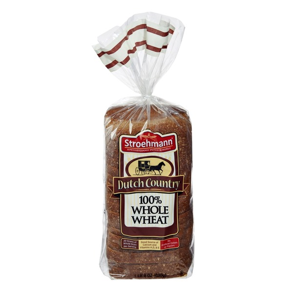 Stroehmann Dutch County 100 Whole Wheat Bread from Costco