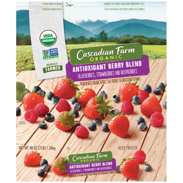 cascadian farm organic antioxidant