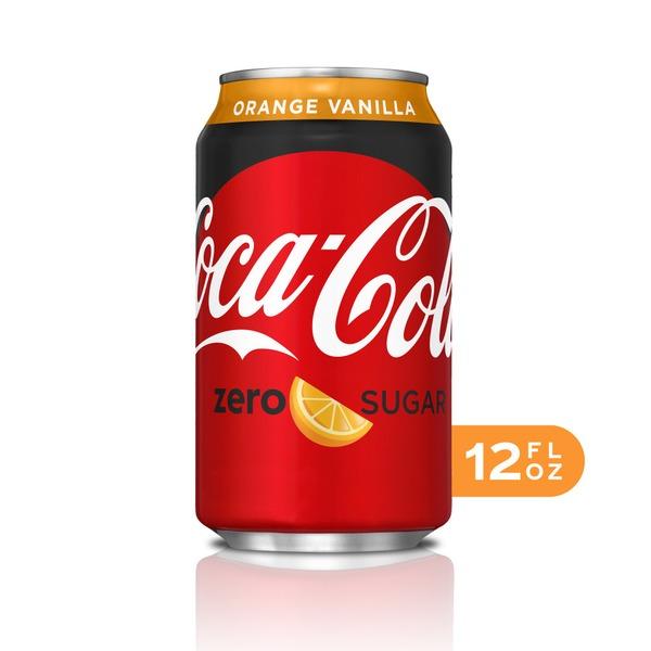 Coca-Cola Zero Sugar Orange Vanilla Zero Sugar Diet Soda ...