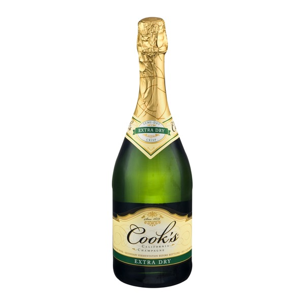 Cook39s California Champagne Extra Dry 750 ml from Stater