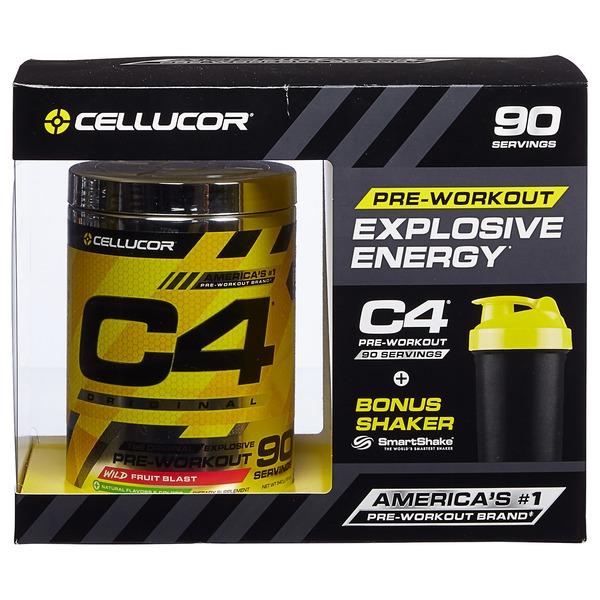 cellucor c4 original explosive