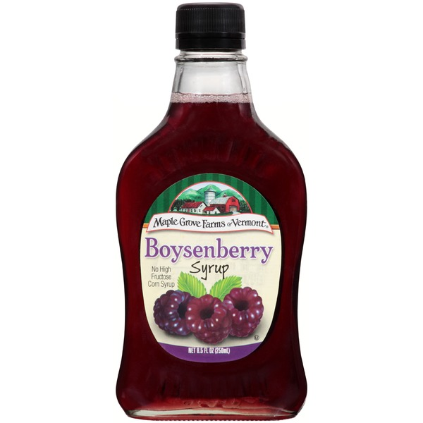 Maple Grove Farms Boysenberry Syrup from Key Food Instacart