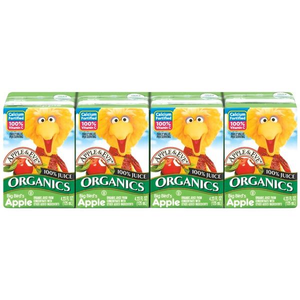Apple Eve Organics Sesame Street Big Bird39s Apple 100