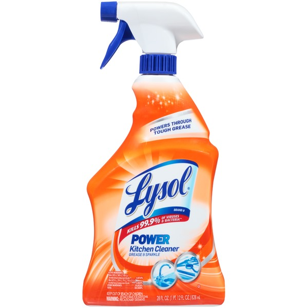 kitchen cleaning products repair cabinets lysol grease sparkle power cleaner from safeway instacart