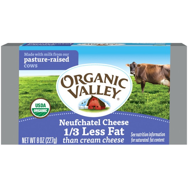 Organic Valley Neufchatel Cream Cheese Spread from Green