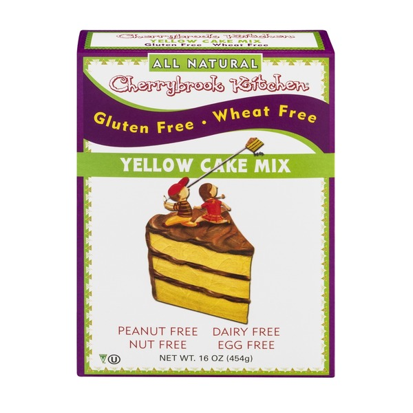 Cherrybrook Kitchen Yellow Cake Mix from Whole Foods