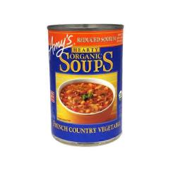 Amy's Kitchen Soup Farmhouse Style Islands Amy S Reduced Sodium Hearty French Country Vegetable