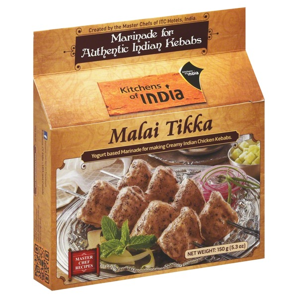 kitchens of india white kitchen cupboards malai tikka 150 g from giant food instacart