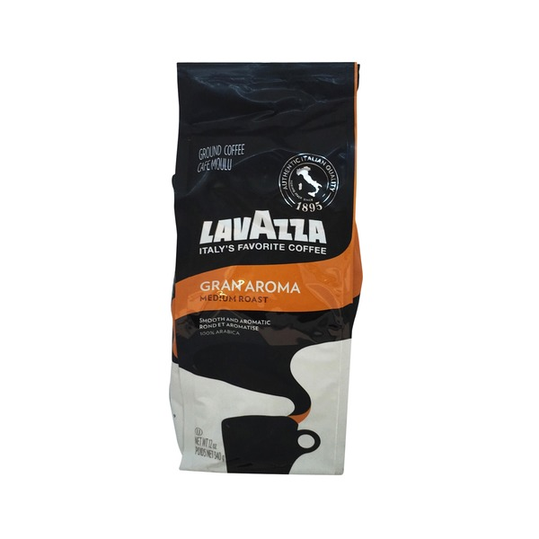 LavAzza Gran Aroma Medium Roast Coffee from Fairway Market
