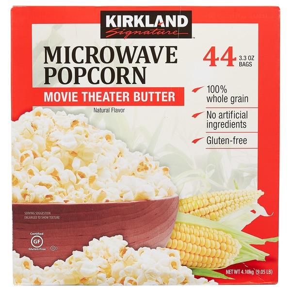 30 kirkland popcorn nutrition label