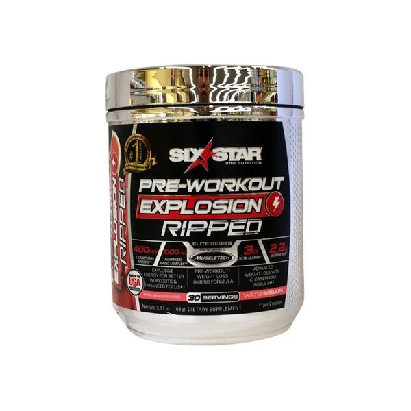 C4 Sport Vs Six Star Pre Workout Explosion - WorkoutWalls