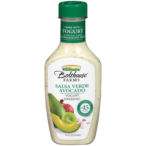 Bolthouse Farms Salsa Verde Avocado Yogurt Dressing 14 fl