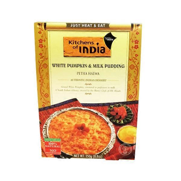 kitchen of india delta touchless faucet pumpkin milk pudding petha halwa 8 oz from