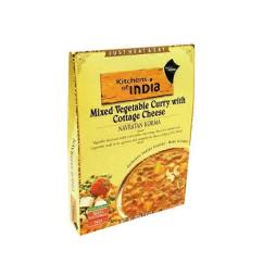 Kitchens Of India Tile Kitchen Mixed Vegetable Curry With Cottage Cheese From