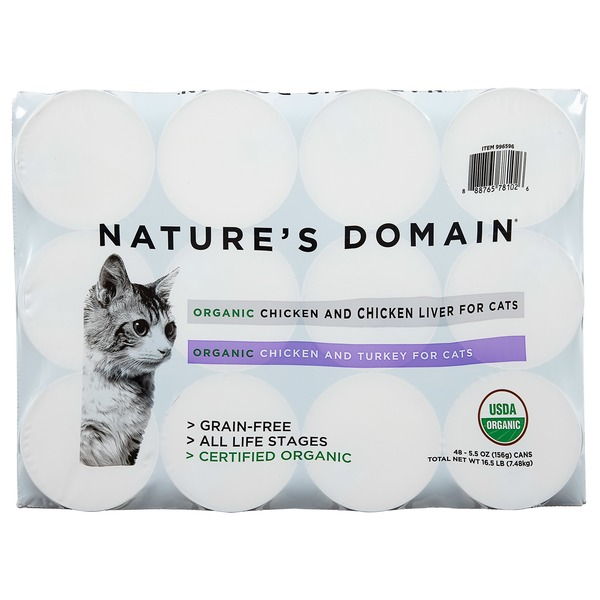 Who Makes Kirkland Nature S Domain Cat Food