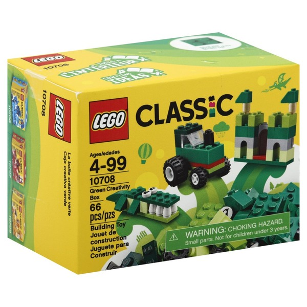 lego building toy green