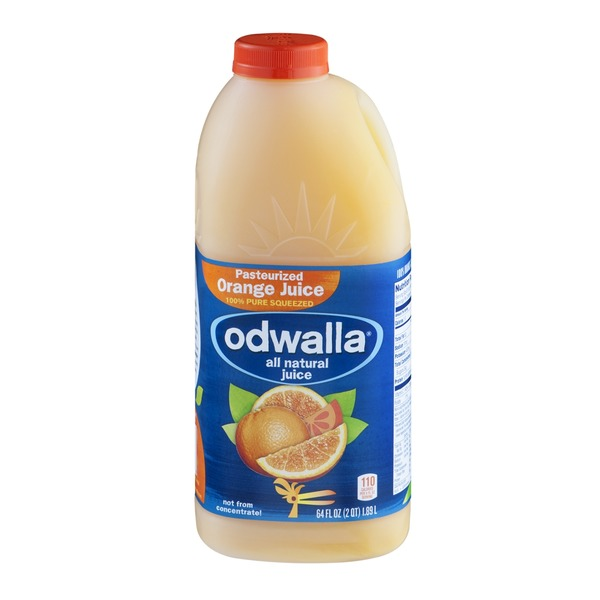 Odwalla All Natural Pasteurized Orange Juice from Whole ...