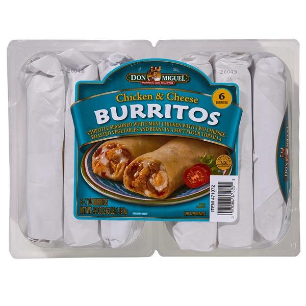 don miguel chicken burritos