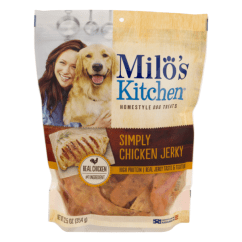 Milos Kitchen Where To Buy Cheap Cabinets Milo S Homestyle Dog Treats Simply Chicken Jerky From Stop