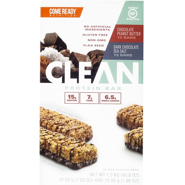 Come Ready Nutrition Clean Bars 24 ct from Costco