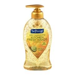 Kitchen Hand Soap Hands Free Faucet Softsoap Odor Neutralizing Fresh 8 5 Fl Oz