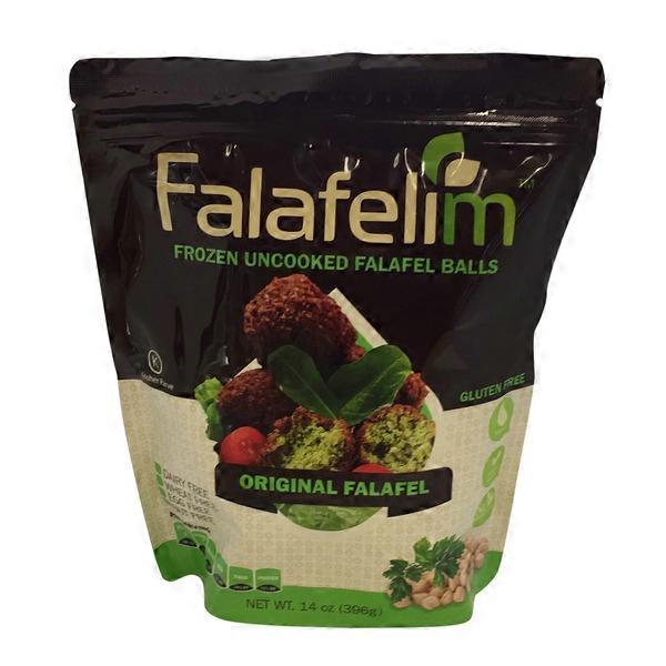 Falafelim Frozen Uncooked Falafel Balls (14 oz) from Whole ...