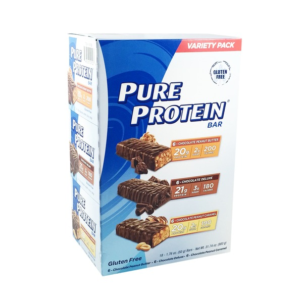 Pure Protein Bar Variety Pack 3174 oz from Costco