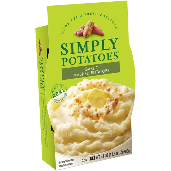 Simply Potatoes Garlic Mashed Potatoes from HEB Instacart