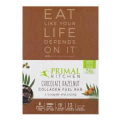 Primal Kitchen Bars Sink Covers Collagen Fuel Bar Chocolate Hazelnut 1 7 Oz From