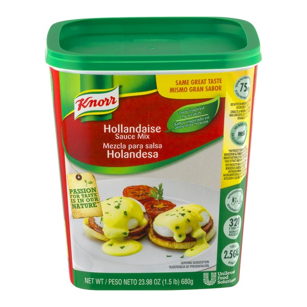 Knorr Hollandaise Sauce Mix from Costco Instacart