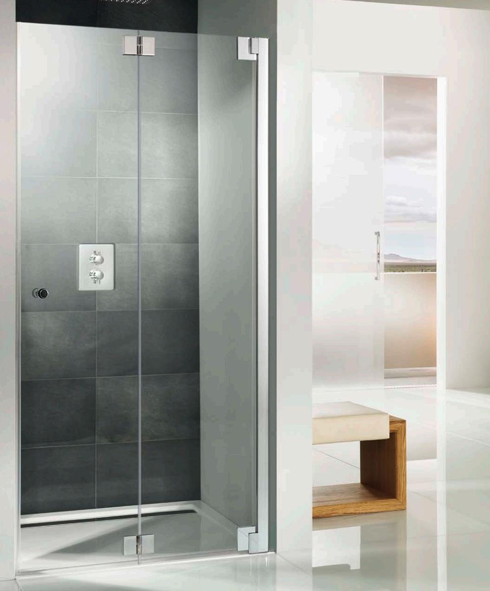 Hsk K2p Recess Pivoting Bi Fold Shower Door 760 X 2000mm