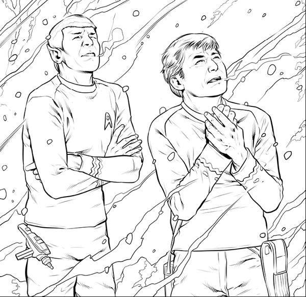 Star Trek: The Original Series Adult Coloring Book Volume
