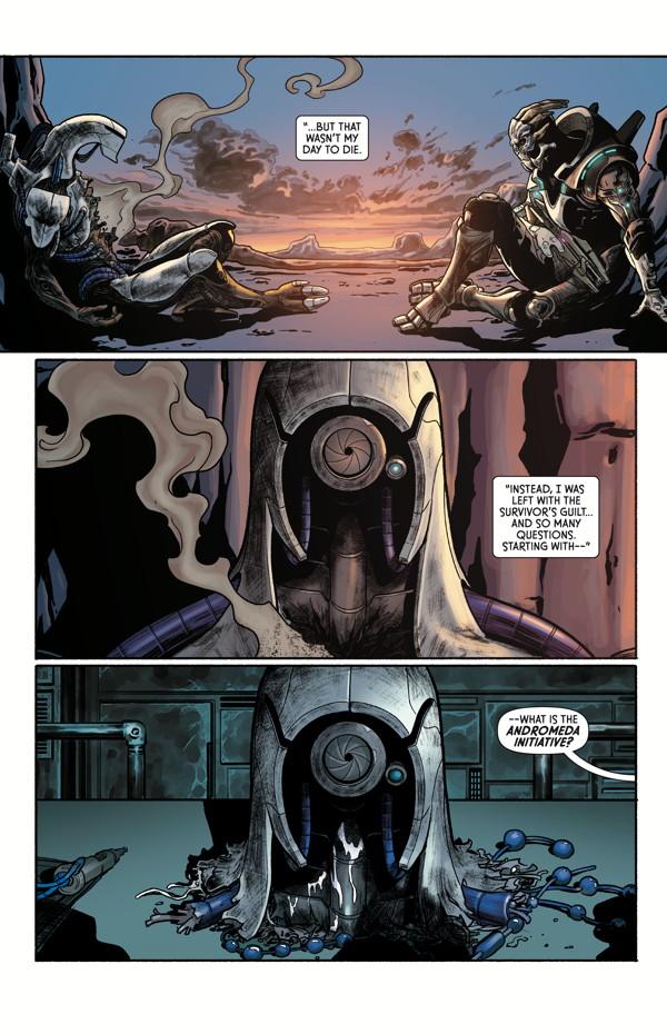 Mass Effect Discovery Tpb Profile Dark Horse Comics