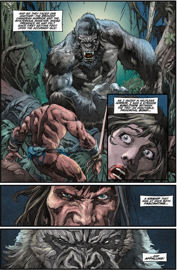Conan the Cimmerian 25 Cary Nord cover  Profile