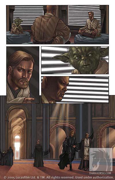 Star Wars Episode III  Revenge of the Sith 1  Profile  Dark Horse Comics