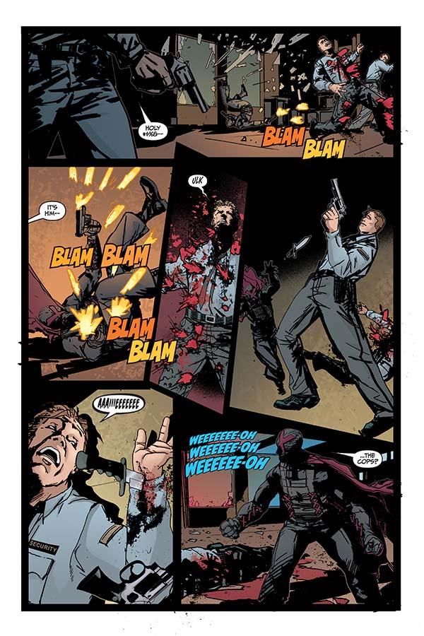 X #1 Dave Wilkins Cover Profile Dark Horse Comics