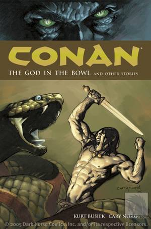 Conan Volume 2 The God in the Bowl and Other Stories TPB