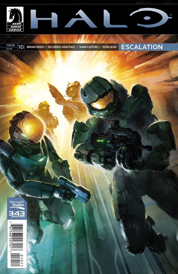 Halo Escalation 10  Profile  Dark Horse Comics