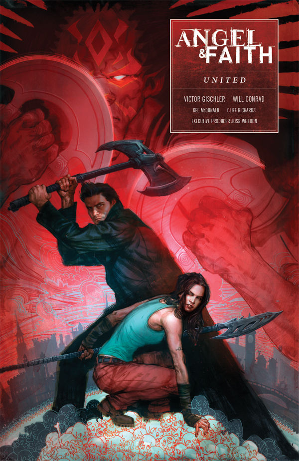 Angel  Faith Season 10 Volume 3 United TPB  Profile  Dark Horse Comics
